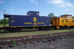 N&W 518675 (Fan-T) Tags: spencer nw caboose c31p c32 hamburger 518675