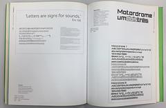 FH Foco; Motordrome (Érico Lebedenco) Tags: adg brasil bienal 2004 design gráfico graphic br catálogo tipografia typography font humanist humanistas sans modular geometric quadrados square
