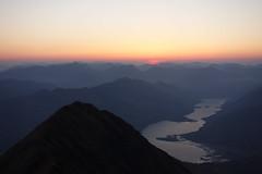 Waiting for dawn from Ladhar Bheinn, Knoydart 2nd May '17 (Hazel Strachan) Tags: bivvy munros sunrise knoydart ladharbheinn scotland