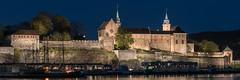 Akershus Slott (Sigurd R) Tags: architecture city clear dark evening longexposure night norge norway oslo sky spring sundown tripod urban no