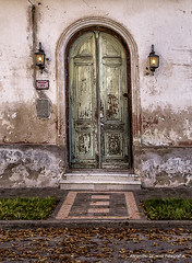 Puerta antigua (alejandrojausoro) Tags: puertaantigua viejacasona pampaargentina