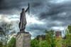IMG_3782_3_4_P2a_850 (band68uk) Tags: symbolic england 5dmark2 eos canon elements photomatix alfredthegreat winchester hampshire hants statue sky cloud plinth sword