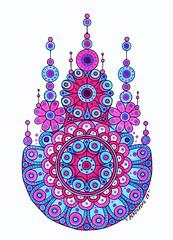 Leuchtturm1917 #2 (Mashmuh) Tags: мандала зентангл copic mandala zentangle art