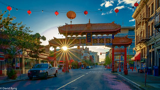 Early Morning-Chinatown, Victoria