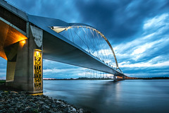 one of those days (Maarten Takens) Tags: maartentakens thenetherlands bridge europa rijn reflection takens nederland beauty colorfulnightshot eavening blau zonsondergang wolken water lines waal waalbrug nightshot river canon5dmarkiines maarten 5dmarkii monument mood nightphoto sunset nijmegen dieniederlande clouds rocks longexposure blue hangbrug ultraweitwinkel rhein canoneosmarkii hängebrücke blauestunde canon5dmarkii brug nachtfotografie rivier bauwerk europe cool