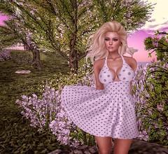 Underneath the rising sun... (autumn.fairlane) Tags: deaddollz exile maitreya lelutka izzies flowers may spring larahurley