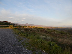 Leaving El Acebo as the first rays of sun make their way into the valleys (amgirl) Tags: spain april 2017 morning elacebo elbierzo april19 day21 elacebotocamponaraya caminodesantiago caminofrances montesdeleon montains