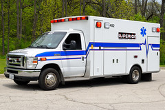 Superior Ambulance 482 (nick123n) Tags: ambulance truck rig emergency sas superior service medical ems
