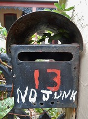 13 Wants No Junk (mikecogh) Tags: portadelaide letterbox mailbox 13 request order informal