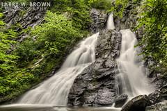 SPRING RUSH (Larry W Brown) Tags: southriverfalls shenandoahnationalpark virginia waterfall springwaterfalls