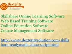 Online Education Software   Course Management Software (dexterity685) Tags: course software skillshare clone online learning web based training