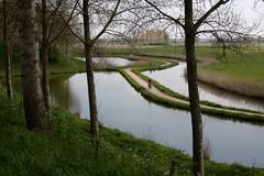 Sluis (V) (dididumm) Tags: scenery landscape water meadow flat bike bicycle red rot fahrrad rad flach wiese wasser landschaft panorama dutch holländisch niederländisch sluis zeeland niederlande holland netherlands