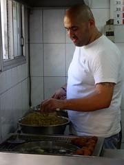 Hummus in Haifa