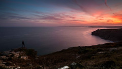 Rinsey Head (explored 11/05/17) (Dom Haughton) Tags: rinsey rinseyhead cornwall coast colour canoneos70d canon kernow uk outdoor ocean sunset wideangle evening spring water sea