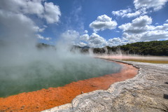 The Champagne Pool  - Waiotapu (Lim SK) Tags: the champagne pool waiotapu thermal wonderland spring