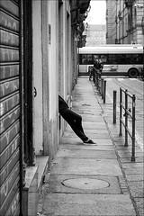 Torino 0460 (malko59) Tags: torino turin biancoenero blackandwhite street streetphotography urban italy italia