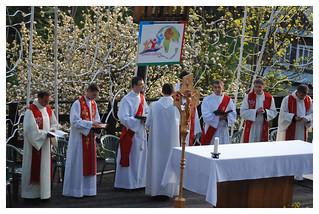 10.05.2008 - Błogosławieństwo Agnieszki podczas Centralnej Oazy Matki - Krościenko