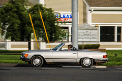 Mercedes-Benz 380 SL Cabriolet (Rivitography) Tags: ag34801 connecticut mercedesbenz mercedes 380sl cabriolet silver convertible german brookfield 2017 canon lightroom rivitography