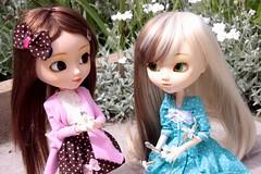 Nina & Miyuki [Nina & Paja] (Vagabonde59) Tags: pullip pullips poupée poupées doll dolls nina paja 2005 miyuki