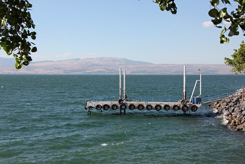 Sea of Galilee at Ein Gev