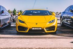 2016 Lamborghini Huracán LP580-2 (Leighton Wallis) Tags: sony alpha a7r mirrorless ilce7r 55mm f18 emount sydney pyrmont carsandcoffee 2017 lambo lamborghini huracan lp5802 yellow