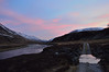 Luib Chonnal-Glen Roy 2 (gusfair) Tags: path river sunset snowcappedmountains glenroy