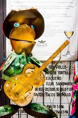 Song frog (Thomas Hawk) Tags: baja bajacalifornia cabo cabosanlucas loscabos mexico frog guitar sculpture