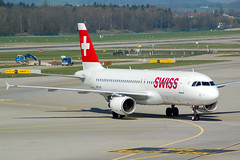 SWISS  A320  HB-IJS (Adrian.kissane) Tags: 782 hbijs a320 zurich swissair