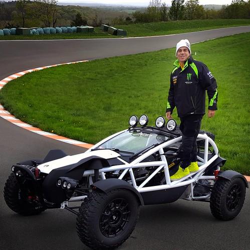 Alan Wilzig Wilzig Racing  Ariel Nomad