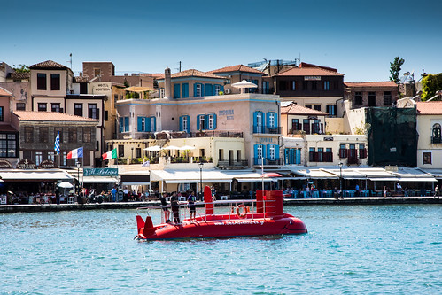 Boaty McBoatface makes it to Chania Harbour