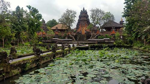 Ubud, Pura Taman Saraswati Temple - Bali, Indonesia