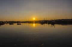 Pwllheli Sunset (gopper) Tags: pwllheli nikon harbour gwynedd sigma ngc sunset scenic scenery golden shadow wales welsh cymru cymraeg northwales lleyn lleynpeninsula boat boats path reflection 1020mm d7100 flickr seascape