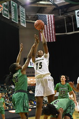 WBasketball-vs-North Texas, 1/26, Chris Crews, DSC_4880 (PsychoticWolf) Tags: 49ers basketball charlotte cusa d1 green mean ncaa ninermedia north nt texas unc uncc unt womens