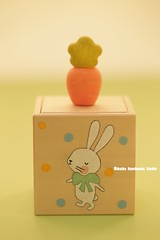 Rabbit/bunny jewelry box,hand painted wood box,Keepsake Box,friendship gift,girl friend gift,accessories box,wooden box,Trinket box (charles fukuyama) Tags: giftideas handmade unique holiday design pastel woodenbox homedecor deskdecor miniatures 手塗り handpainted animals kikuike coniglio lapin conejo ウサギ hase