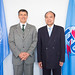 His Excellency Mr. Héctor Marcelo Cima, Ambassador, Permanent Representative of Argentina to the United Nations Office Geneva and Houlin Zhao, Secretary-General, ITU.