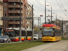 """Pesa 134N """"Jazz"""", #3826, Tramwaje Warszawskie (transport131) Tags: tram tramwaj tw warszawa ztm warsaw pesa 134n jazz"""
