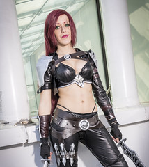 _MG_5855_1 (Mauro Petrolati) Tags: romics 2017 cosplay cosplayer league legends katarina