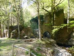 Eugi, Navarre, Espagne: ruines de la Manufacture Royale d'Armes. À droite coule l'Arga. (Marie-Hélène Cingal) Tags: espagne españa spain navarre navarra eugi