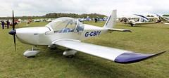 Aerotechnik EV-97 Eurostar G-CBIY Popham Microlight Trade Fair 2017 (SupaSmokey) Tags: aerotechnik ev97 eurostar gcbiy popham microlight trade fair 2017