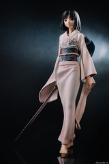 Kara no Kyoukai - Ryougi Shiki (delayedflight) Tags: ryougishiki karanokyoukai goodsmilecompany nendoron nanashi nikon d800 50mm nikonnikkor50mmf18gafs extensiontube jfigure bfigure figurine anime typemoon pvc sword kimono macro sb600 両儀式 空の境界