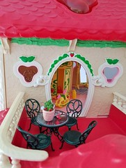 Strawberry Shortcake House (BlytheOwl ..crafty...see profile) Tags: strawberryshortcakedollhosue strawberryshortcake