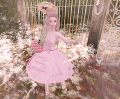 Creepy Peenky (hump muffin) Tags: dark style fair events fameshed fashion blogging sanarae coven ama catwa creepy cute elephante poses eliavah essenz girly inia le forme pink stealthic vco violent seduction who what winter moon yokai ifttt wordpress second life hump muffin sl avatar girl clothes blog