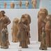 Locri, Grotta Caruso: miniature terracotta draped women