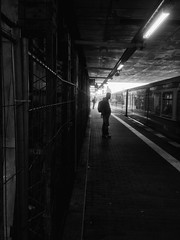 Heading to the next destination (D. Cassarino Photography) Tags: sbahn overground iphoneography warschauerstrasse trainstation moody streetphotography travelphotography berlin