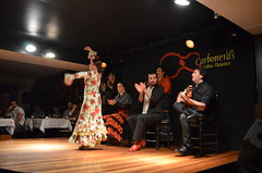 DSC_0786 (rusesmeralda) Tags: flamenco madrid spain dancing dance baile bailaor bailaora authentic tradition