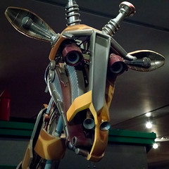Giraffe | Robot Zoo | Horniman Museum | May 2017 (Paul Dykes) Tags: hornimanmuseum museum sydenham london england uk museums robotzoo