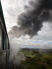 Smoke Screen (davids pix) Tags: swanage railway bulleid gala 34070 manston smoke screen preserved steam locomotive southern pacific 2017 02042017