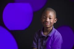Front Bokeh Portrait (budrowilson) Tags: canon eos5dmarkiii ef85mmf12lusm frontbokeh ledlights portrait kid