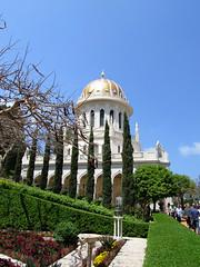 Haifa, Israel. The Bahai's Gardens in Haifa Israel (violine) Tags: haifa israel bahais garden