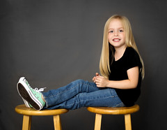 IMG_8329 (theiss.heather) Tags: twin twins girls portraits photo session 6 years studio simple stool converse